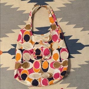 Coach packable Tote NWT!